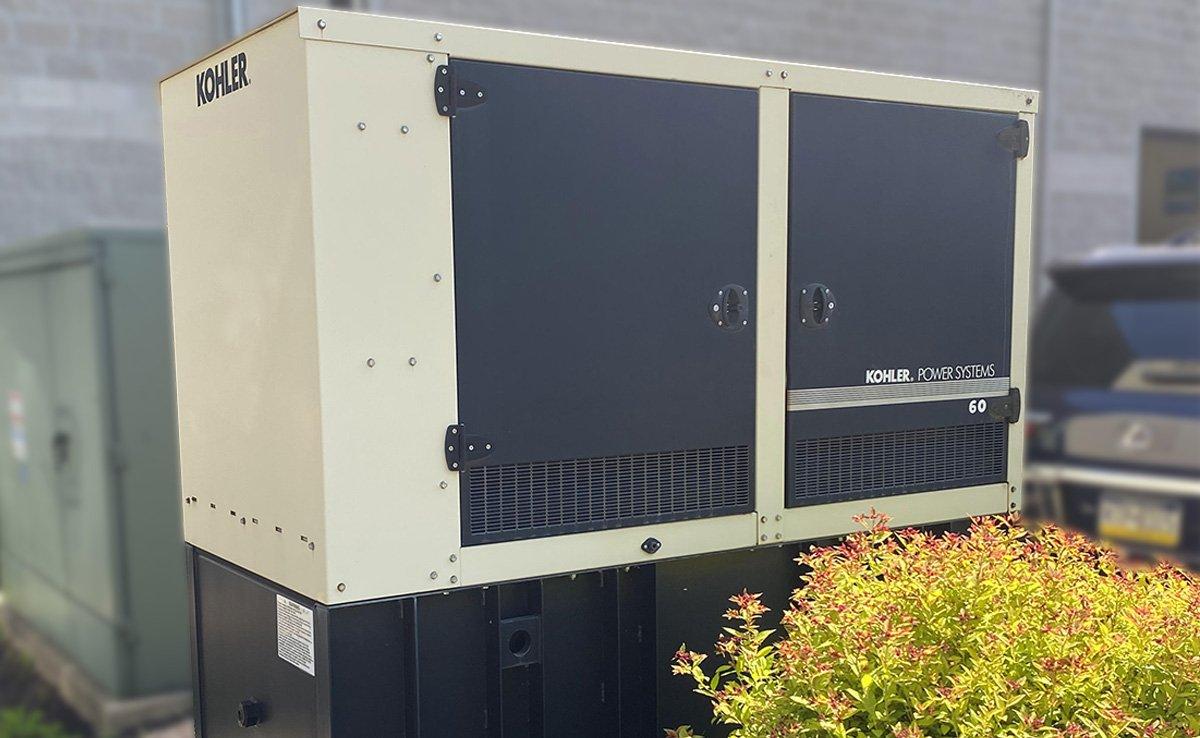 Automotive Dealership Back Up Generator