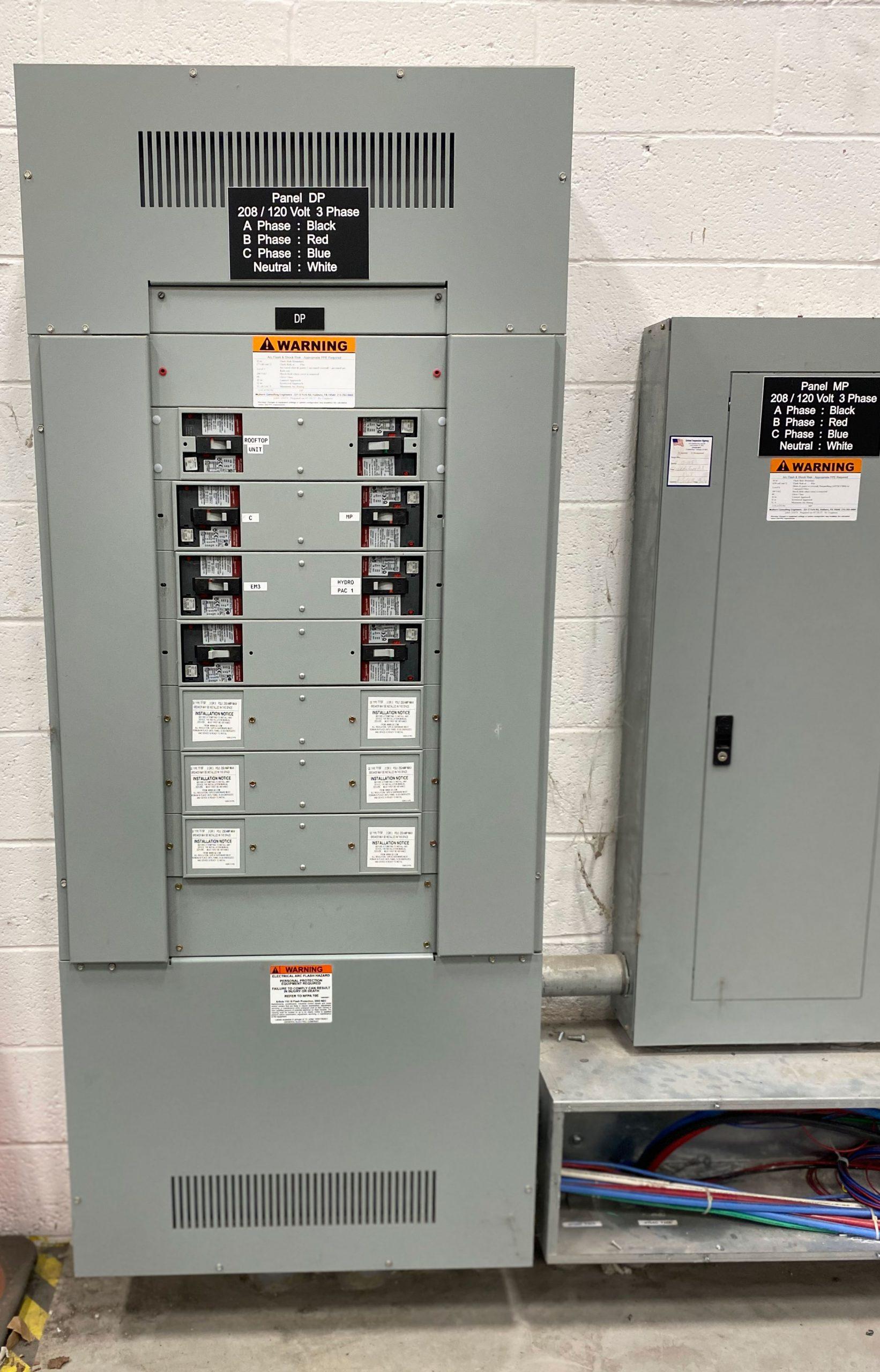 High Voltage Panel